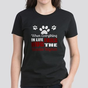 Hug The Rhodesian Ridgeback Women's Dark T-Shirt
