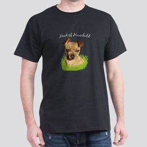Head of Household Chihuahua Mens Dark T-Shirt