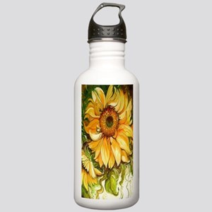 Pretty Sunflowers Stainless Water Bottle 1.0L