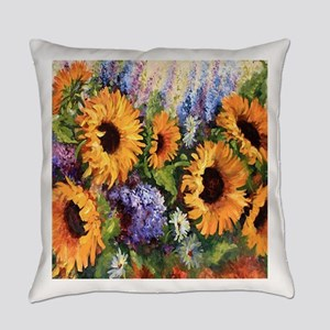 Sunflower Everyday Pillow