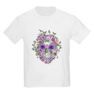 Pink skull kids t shirts cafepress mightylinksfo