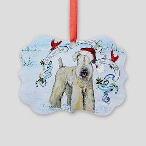 Wheaten Terrier Christmas Ornament