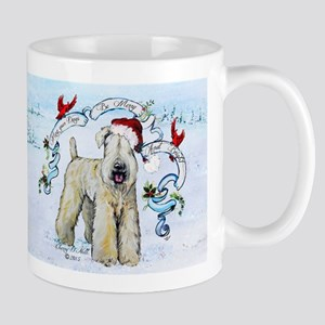 Wheaten Terrier Christmas Mugs