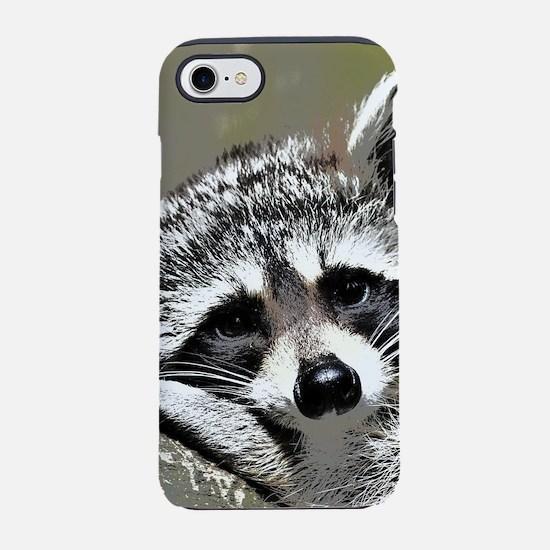 Toony Raccoon iPhone 8/7 Tough Case