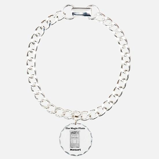 MOZART - THE MAGIC FLUTE Charm Bracelet, One Charm