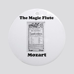 MOZART - THE MAGIC FLUTE Round Ornament