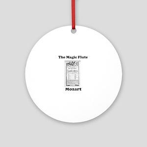 MOZART - THE MAGIC FLUTE Round Ornament
