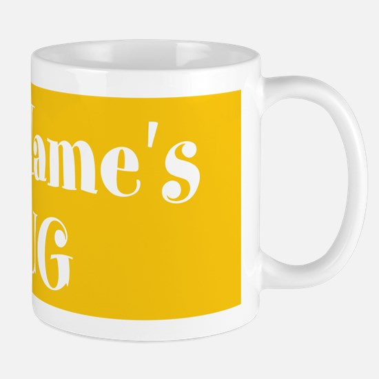 YELLOW Personalized Mug