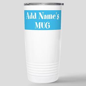 Light Blue Personalized Mugs