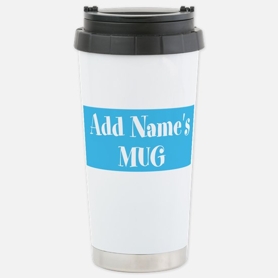 Light Blue Personalized Mugs