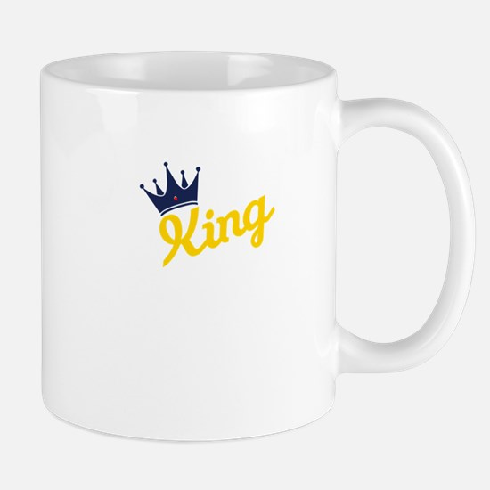 king and quen couple Mugs
