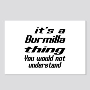Burmilla Thing You Would Postcards (Package of 8)