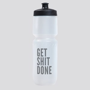 Get Shit Done Sports Bottle