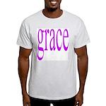 107.grace.. Ash Grey T-Shirt