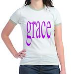 107.grace.. Jr. Ringer T-Shirt