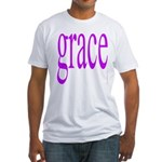 107.grace.. Fitted T-Shirt
