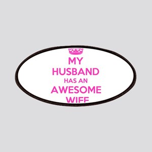 mu husband has an awesome wife Patch