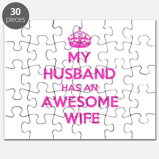 mu husband has an awesome wife Puzzle
