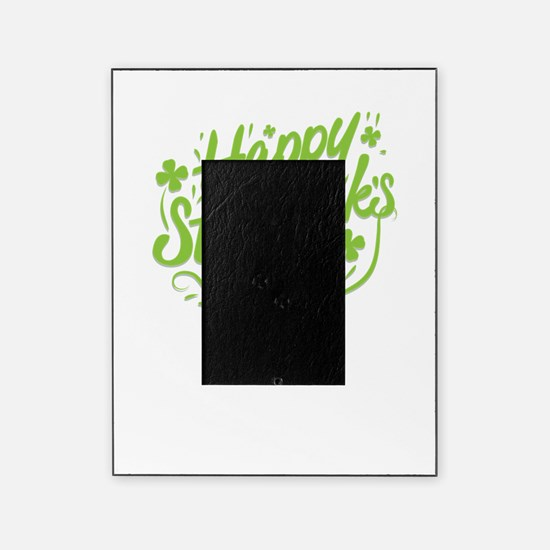 happy st patrick's day Picture Frame