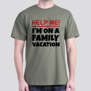 Family Vacation Dark T-Shirt