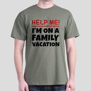 Family Vacation Dark T Shirt