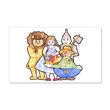 sc 1 st  CafePress & Wizard Oz Wall Decals - CafePress