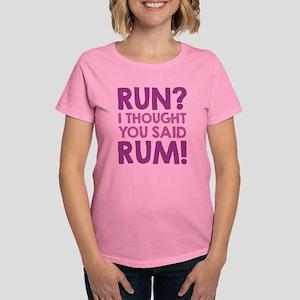 Run Rum Women's Dark T-Shirt