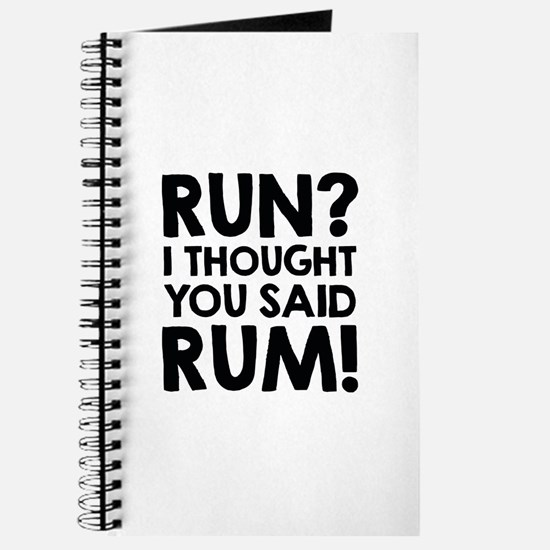 Run Rum Journal
