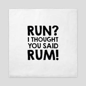 Run Rum Queen Duvet