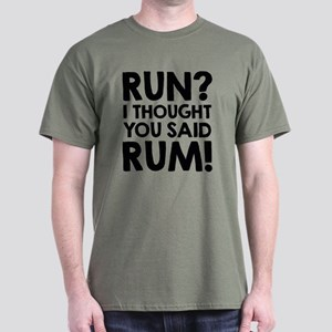 Run Rum Dark T-Shirt