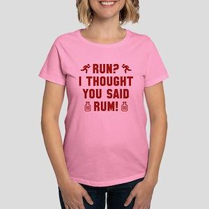 I Thought You Said Rum Women's Dark T-Shirt