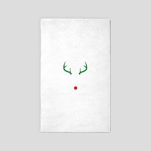 Oh Deer Christmas Area Rug