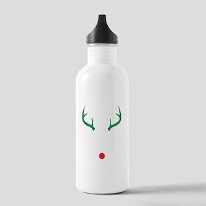 Oh Deer Christmas Water Bottle