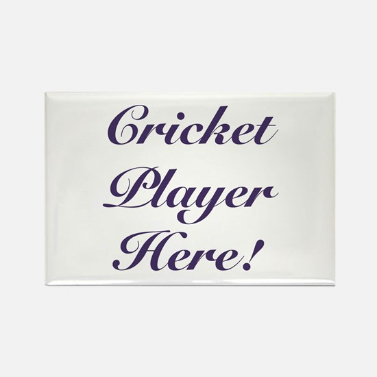 Cricket Player Magnets