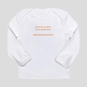 Alt-Right Slogan Long Sleeve T-Shirt