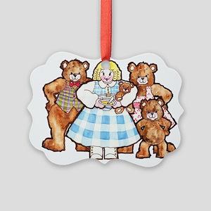 Goldilocks And The Three Bears Ornament