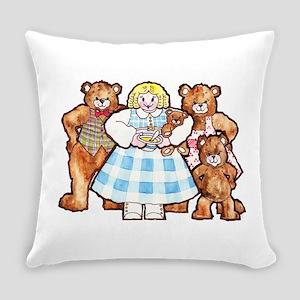Goldilocks And The Three Bears Everyday Pillow