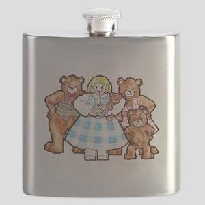 Goldilocks And The Three Bears Flask