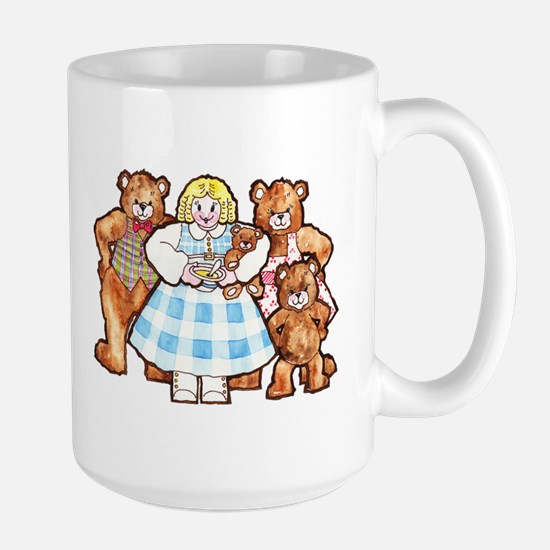 Goldilocks And The Three Bears Mugs