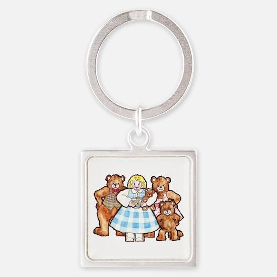 Goldilocks And The Three Bears Keychains