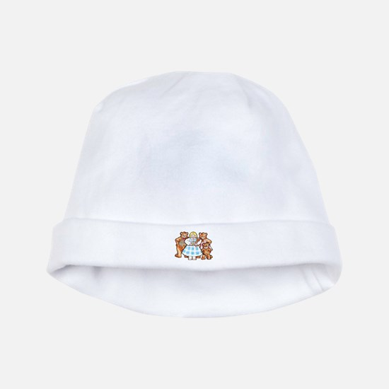 Goldilocks And The Three Bears Baby Hat