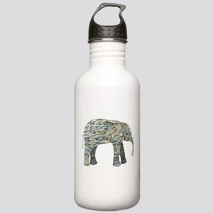 Elephant Collage Stainless Water Bottle 1.0L