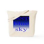307. deep blue sky..[color] Tote Bag