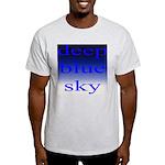 307. deep blue sky..[color] Ash Grey T-Shirt