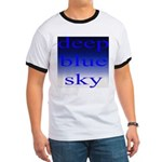 307. deep blue sky..[color] Ringer T