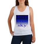 307. deep blue sky..[color] Women's Tank Top