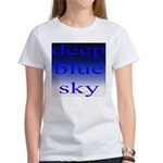 307. deep blue sky..[color] Women's T-Shirt