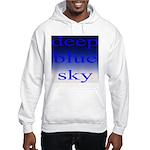 307. deep blue sky..[color] Hooded Sweatshirt