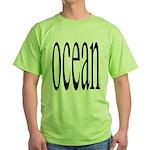 306. ocean.. Green T-Shirt