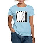 306. ocean.. Women's Pink T-Shirt